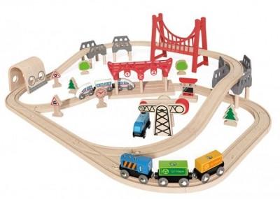 Double Loop Railway set Hape 1